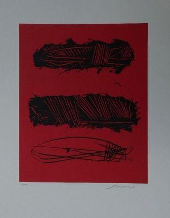 Litografía Scanavino - Senza titolo