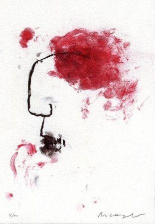 Litografía Arcangelo - Senza titolo