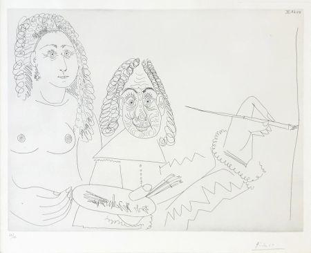 Grabado Picasso - SERIES 347 (BLOCH 1502)