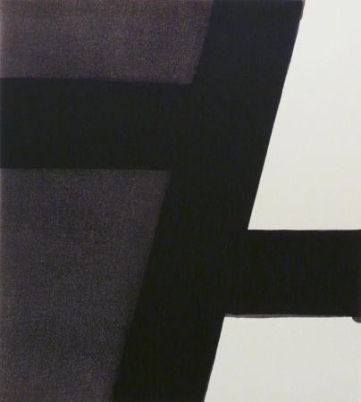 Serigrafía Soulages - Serigraphie n°21