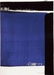 Serigrafía Soulages - Serigraphie n° 16