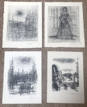 Múltiple Carzou - Set of 4 artworks