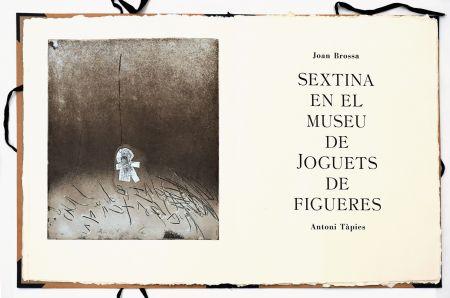 Aguafuerte Tàpies - Sextina en el Museu de Joguets de Figueres