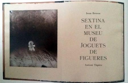 Libro Ilustrado Tapies - Sextina En El Museu De Joguets De Figueres