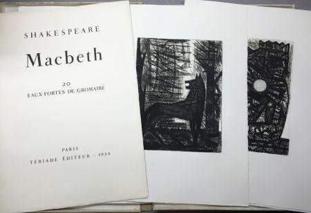 Grabado Gromaire - SHAKESPEARE, William: MACBETH.