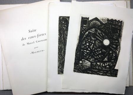 Libro Ilustrado Gromaire - SHAKESPEARE, William: MACBETH. Avec double suite.