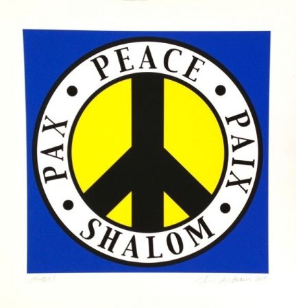 Serigrafía Indiana - Shalom, Peace