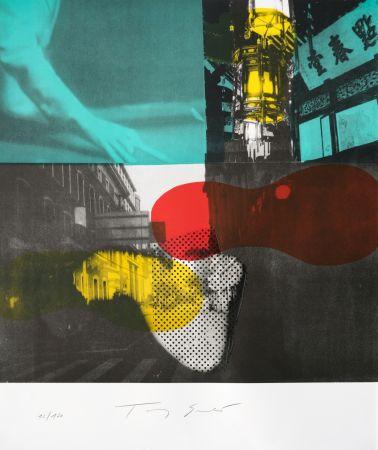 Litografía Soulie - Shanghai Nocturne