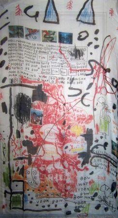 Serigrafía Basquiat - Shell