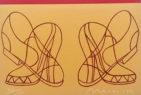 Litografía Arroyo - Shoes