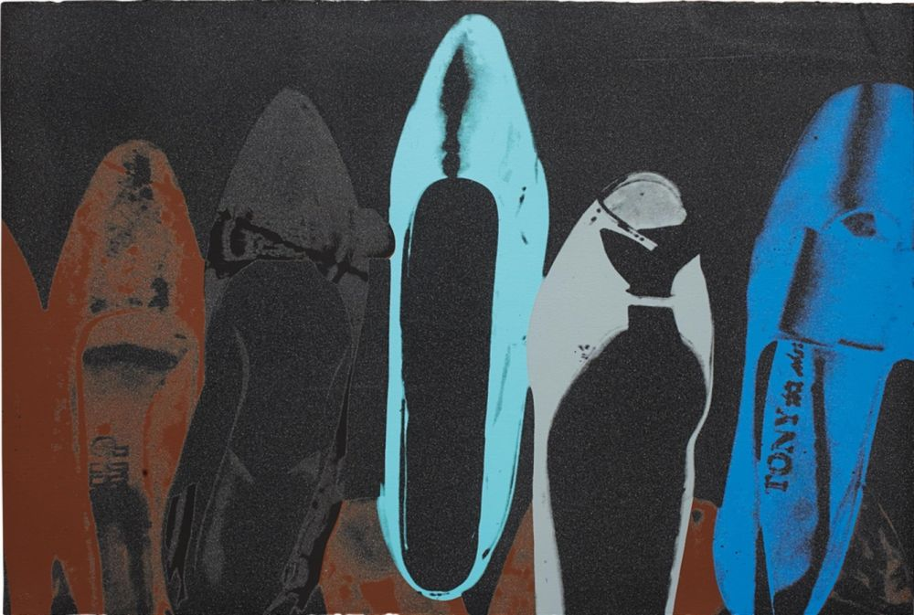 Serigrafía Warhol - Shoes (FS II.257)