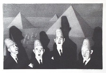 Litografía Wood - Shrine quartet