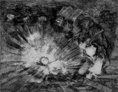 Aguafuerte Y Aguatinta Goya - Si resuscitarà