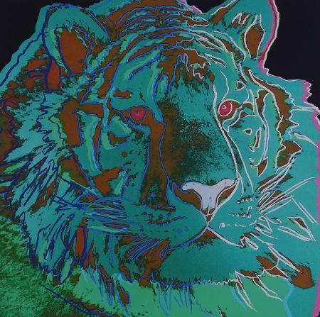 Serigrafía Warhol - Siberian Tiger