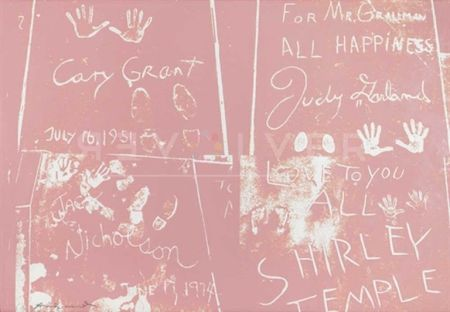 Serigrafía Warhol - Sidewalk (FS II.304)