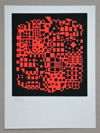 Serigrafía Vasarely - Sikkaso