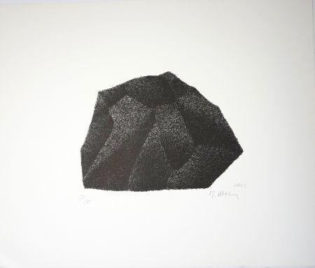Litografía Ubac - Silex I