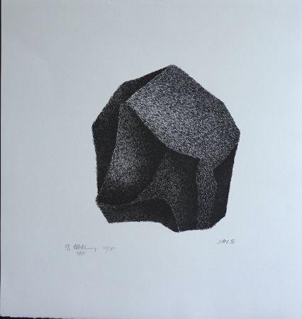 Litografía Ubac - Silex III