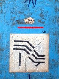 Carborundo Coignard - Sillon bleu