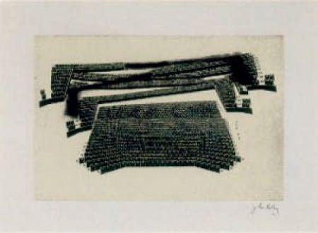Litografía Kuitca - Sin título-1