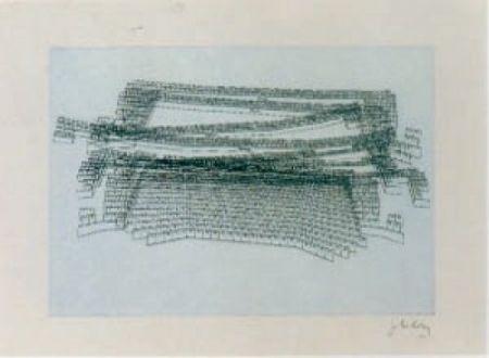 Litografía Kuitca - Sin título-2