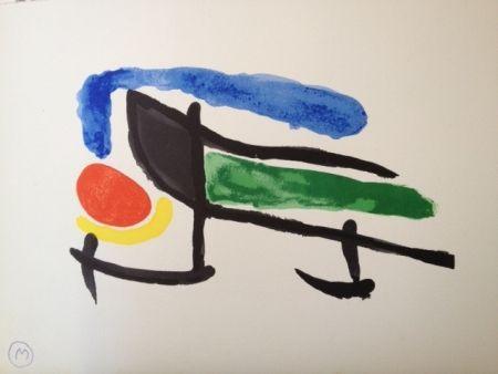 Litografía Miró - Sin Titulo