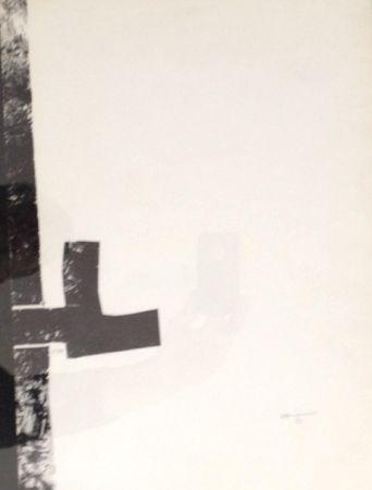 Litografía Chillida - Sin Titulo