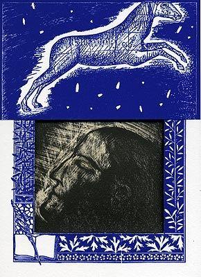 Litografía Paladino - Sipario