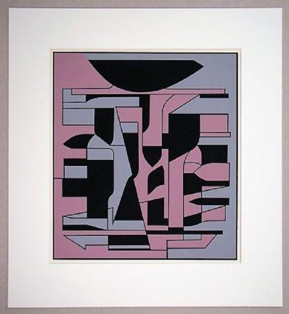 Serigrafía Vasarely - Siris II