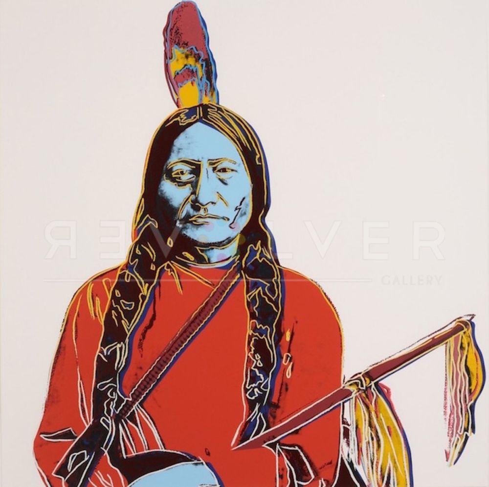 Serigrafía Warhol - Sitting Bull (FS IIA.70)