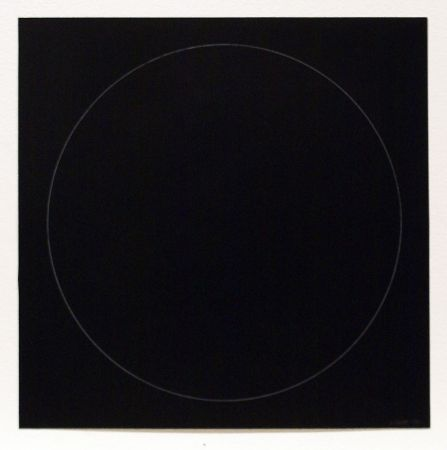 Aguafuerte Y Aguatinta Lewitt - Six Geometric Figures - Circle