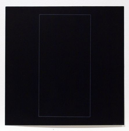 Aguafuerte Y Aguatinta Lewitt - Six Geometric Figures - Rectangle