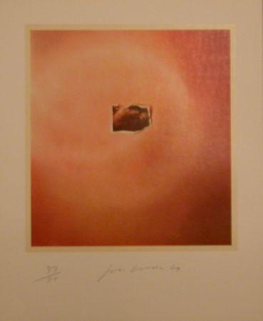 Litografía Goode - Six Lithographs (creased photo on orange background)