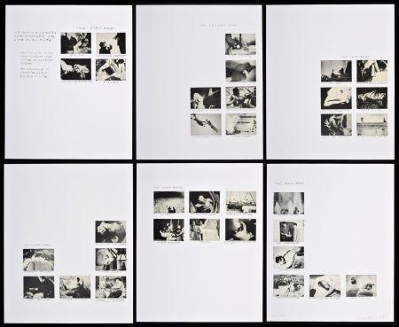 Litografía Baldessari - Six Rooms
