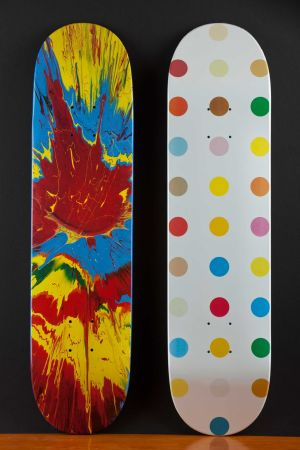 Múltiple Hirst - Skateboards