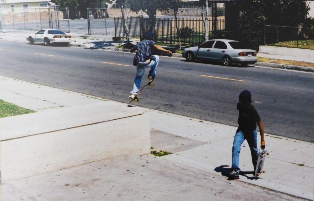Fotografía Clark - Skaters (Wassup Rockers)