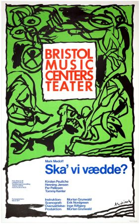Cartel Alechinsky - Ska'vi vædde ?, Mark Medoff, 1977