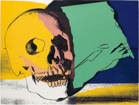 Serigrafía Warhol - Skull (FS II.158)