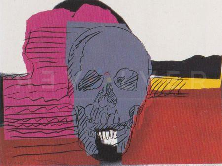 Serigrafía Warhol - Skull (Fs Ii.159)