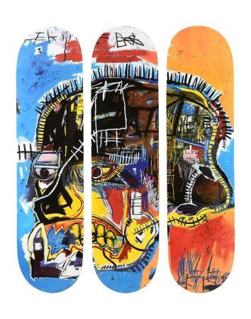 Múltiple Basquiat - Skull Skateboards