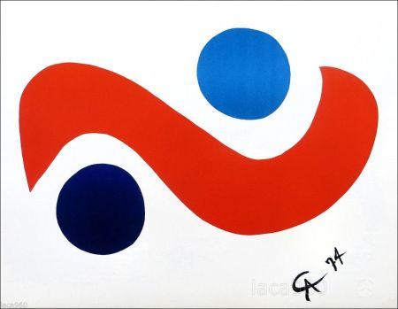 Litografía Calder - Skybird