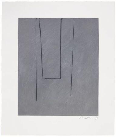 Aguafuerte Y Aguatinta Motherwell - Slate Gray Pintura