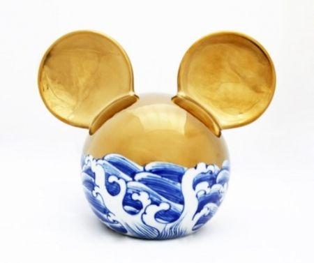 Cerámica Lihong - Small Mickey – gold