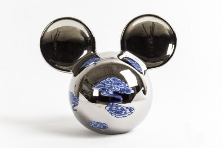Cerámica Lihong - Small Mickey – silver