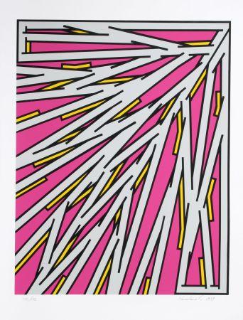 Serigrafía Krushenick - Small Pink