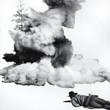 Litografía Baldessari - Smoke, Tree, Shadow and Person