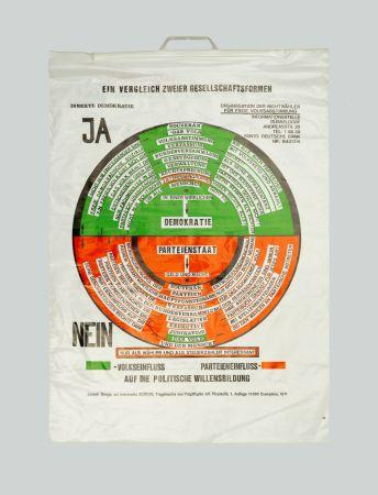 Serigrafía Beuys - So kann die Parteiendiktatur uberwunden werden