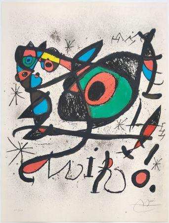 Litografía Miró - SOBRETEIXIMS I ESCULTURES