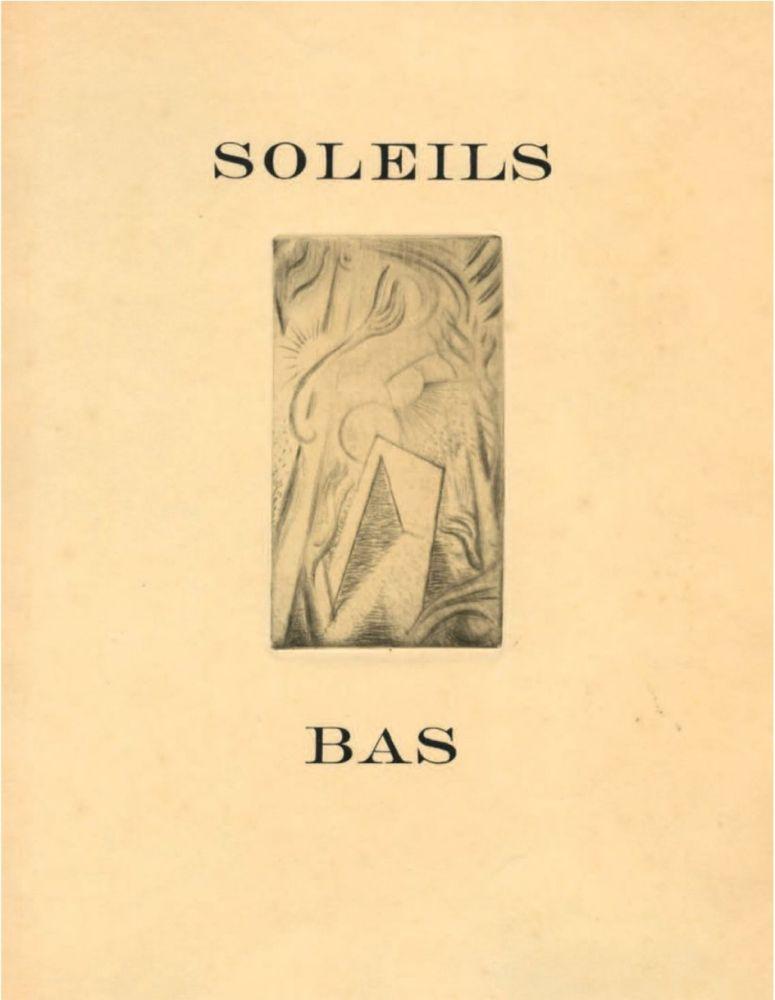 Libro Ilustrado Masson - SOLEILS BAS. Le premier livre illustré par André Masson (1924).