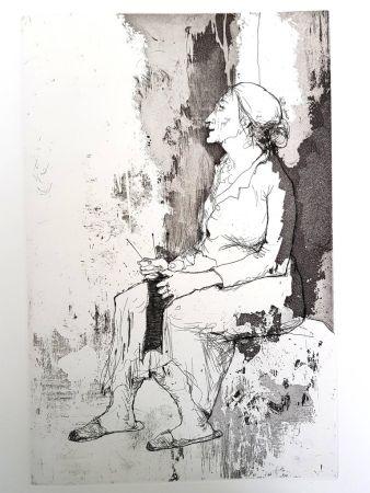 Litografía Jansem - Solitude